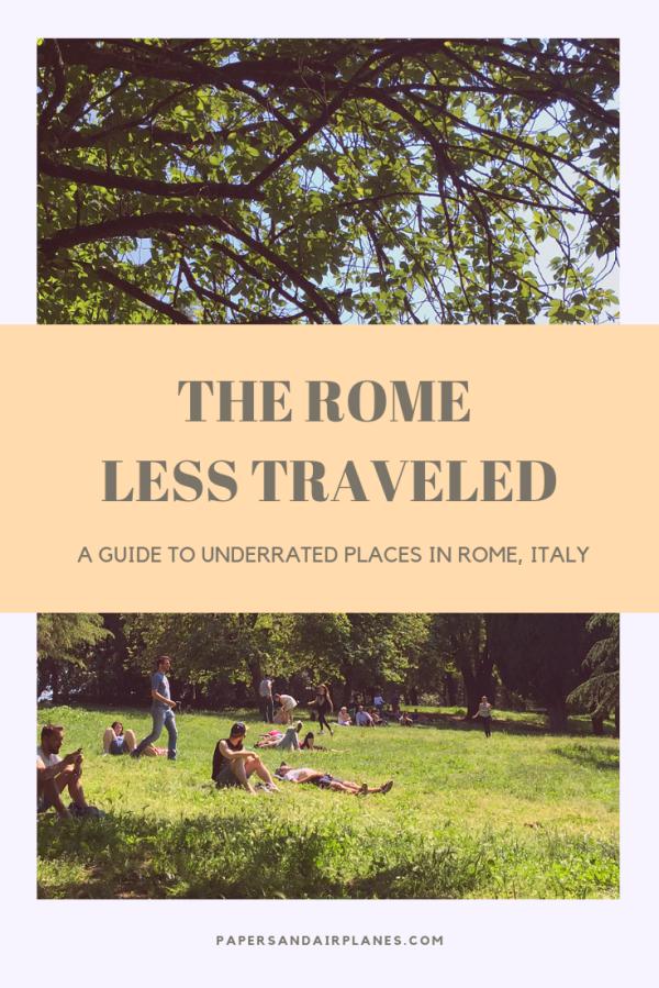 Rome less traveled